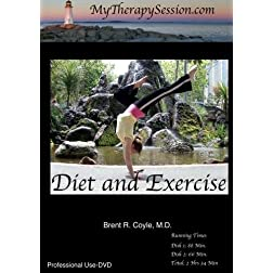 Diet and Exercise/Self-Esteem and Goal Setting Combination-Professional Use DVD Copy*