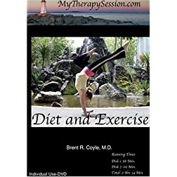 Diet and Exercise/Self-Esteem and Goal Setting Combination-Individual Use DVD Copy*