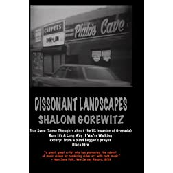 Dissonant Landscapes: Blue Swee, Run, Black Fire, excerpt from blind beggar's prayer