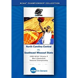 1989 NCAA Division II Men's Basketball Nat'l Championship - N Carolina Central vs. SE Missouri State
