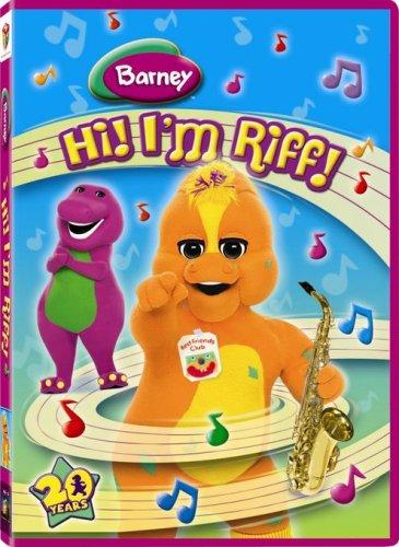 Barney: Hi! I'm Riff!
