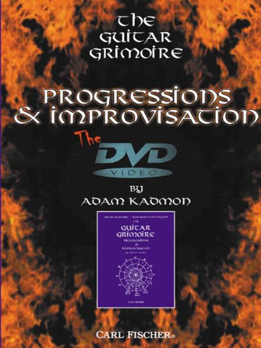 Adam Kadmon: The Guitar Grimoire - Progressions and Improvisation