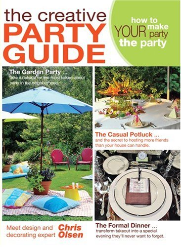 The Creative Party Guide DVD Entertaining with Chris Olsen (Leisure Arts #4506)