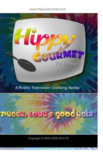 Hippy Gourmet - on Maui, Hawaii making Lavender Ice Cream!