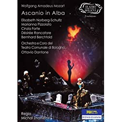 Wolfgang Amadeus Mozart - Ascanio in Alba / Norberg-Schultz, Pizzolato, Forte, Rancatore, Berchtold, Dantone (Teatro Comunale di Bologna)
