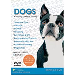 DOGS DVD - Choosing, Caring & Training