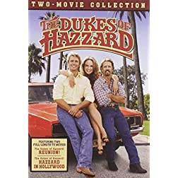 The Dukes of Hazzard Two Movie Collection (Reunion! / Hazzard in Hollywood)