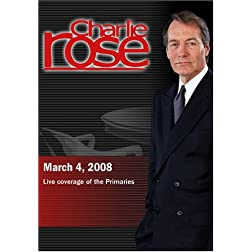 Charlie Rose - Live coverage of the Primaries (March 4, 2008)