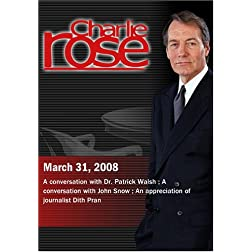 Charlie Rose (March 31, 2008)