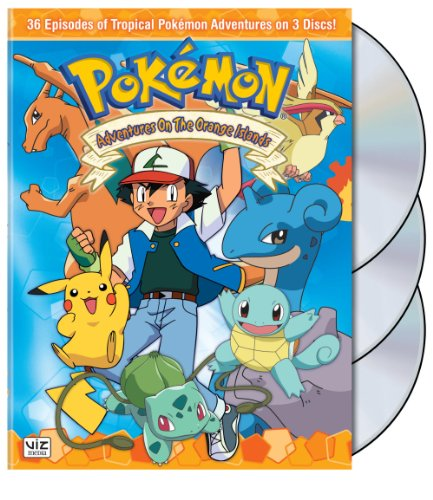 Pokemon - Adventures on the Orange Islands Box Set