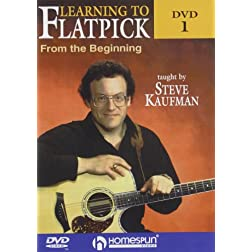 Learning To Flatpick-From the Beginning DVD#1