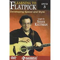Learning To Flatpick-Developing Speed and Style DVD#3