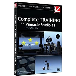 Class on Demand: Complete Training for Pinnacle Studio 11: Avid Educational Tutorial Training DVD