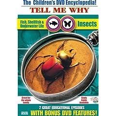 Insects & Fish, Shellfish, Underwater Life