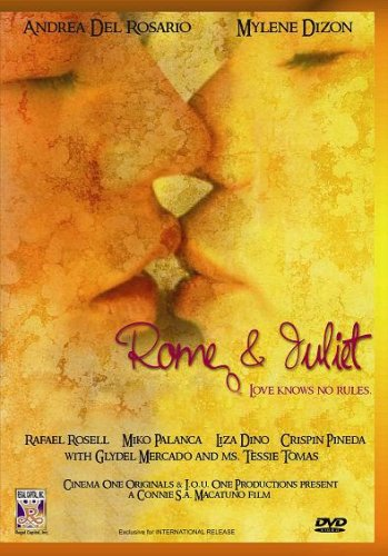 Rome & Juliet - Philippines Filipino Tagalog DVD Movie