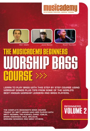 The Musicademy Beginners Worship Bass Course Volume 2