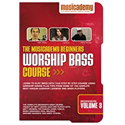 The Musicademy Beginners Worship Bass Course Volume 3