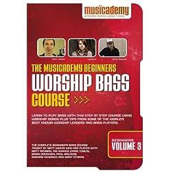The Musicademy Beginners Worship Bass Course Volume 3