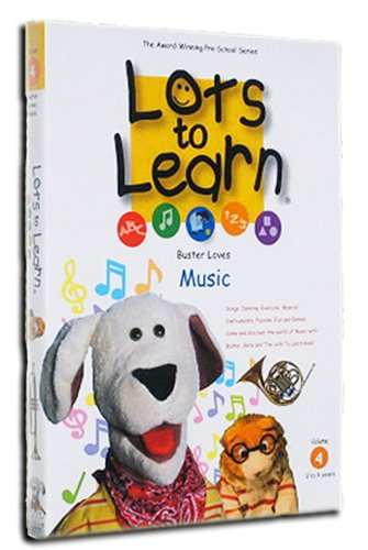 Lots To Learn: Buster Loves Music
