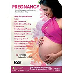 PREGNANCY DVD - From conception to caring for your new born baby