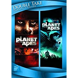 Planet of the Apes (1968) / Planet of the Apes (2001) (Double Take)