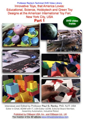 Innovative Toys, that America Loves: Part 1: Educational, Science, Hobbytech and Green Toy Designs at the American International Toy Fair... Part 1