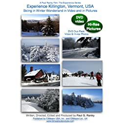 Experience Killington, Vermont, USA: Skiing in Winter Wonderland in Video and in Pictures (DVD Duo Pack: Video & Photos)