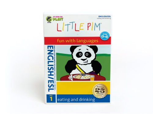 Little Pim: Eating and Drinking (English/ESL)
