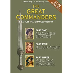 THE GREAT COMMANDERS 3-DVD SET, Parts 1, 2, 3