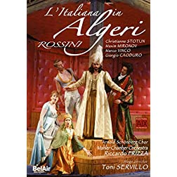 Rossini: L'Italiana in Algeri [DVD Video]