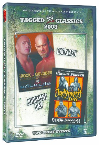 WWE: Tagged Classics 2003 - Backlash/Judgment Day