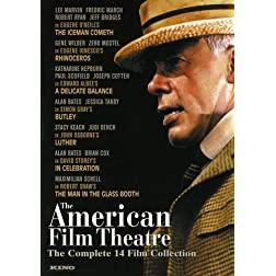 The American Film Theater Complete 14 Film Collection (The Iceman Cometh / A Delicate Balance / The Man in the Glass Booth / Butley / Luther / Rhinoceros ... / The Maids / Jacques Brel) (15 D)