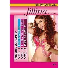 Bellydance with Jillina Choreography, Vol. 1-3