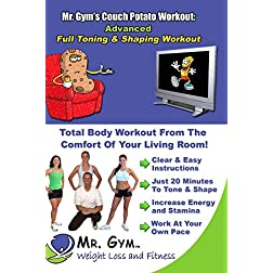 Mr. Gym's Couch Potato Workout on DVD: Advanced Training