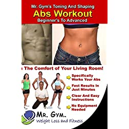 Mr. Gym's Toning and Shaping Abs Workout on DVD: Beginners to Advanced