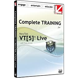 Class on Demand: Complete Training for NewTek VT5 Live: NewTek VT[5] Educational Training Tutorial DVD for the Newtek Video Toaster VT 5