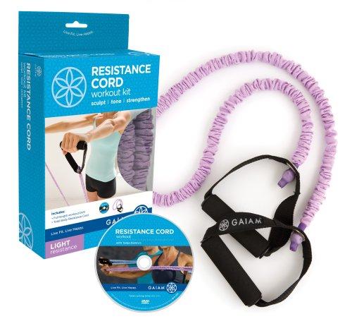 Covered Resistance Cord Kit: Light