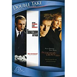 The Thomas Crown Affair (1968) / The Thomas Crown Affair (1999) (Double Take)