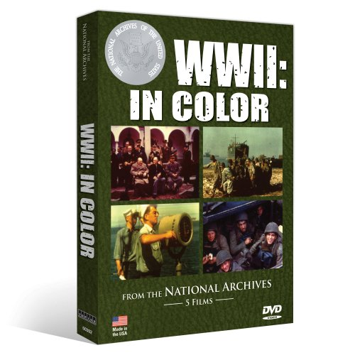 From The National Archives - WWII: IN COLOR