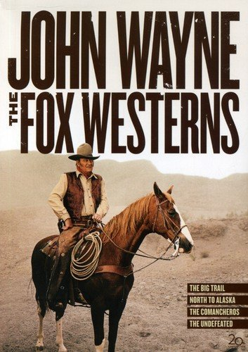 John Wayne: The Fox Westerns Collection (The Big Trail / North to Alaska / The Comancheros / The Undefeated)