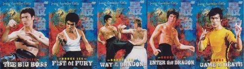 Bruce Lee Complete Collection 5 DVD set