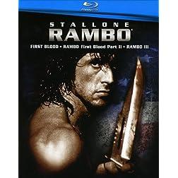 Rambo 1-3 Boxset [Blu-ray]