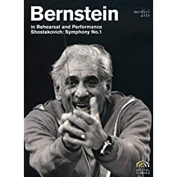 Bernstein in Rehearsal and Performance: Shostakovich - Symphony No. 1