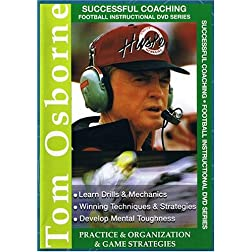 Tom Osborne: Practice, Organization & Game Strategies