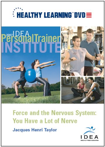 Force and the Nervous System: You Have a Lot of Nerve