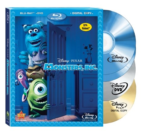 Monsters, Inc. (4-Disc Edition) [Blu-ray]