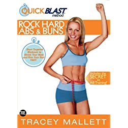 Tracey Mallett: Quickblast Method- Rock Hard Abs & Buns