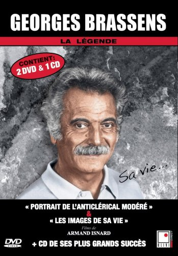 Georges Brassens - 2 documentaires + 1 CD