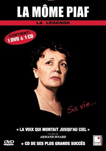 Edith Piaf - 1 documentaire (La voix qui montait jusqu'au ciel) + 1 CD (French only)