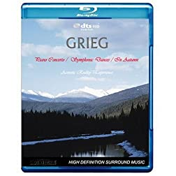 Grieg - Piano Concerto / Symphonic Dances / In Autumn - Acoustic Reality Experience [Blu-ray]